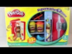 Play Doh Refrigerator Supermarket Store PART 2 Grocery