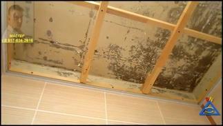 Потолок в ванной из панелей своими руками 49