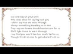 Mandy Moore - Breaking Us in Two Lyrics