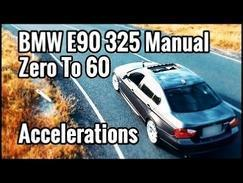 BMW E90 325 0-60 Acceleration Launch 0-100 Zero to 60 EP#5